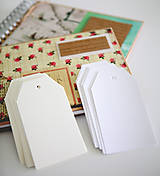 Papiernictvo - Biele alebo krémové menovky - 9473247_