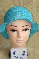 Háčkovaný klobúk