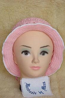 Detské čiapky - Háčkovaný klobúčik - 9471665_
