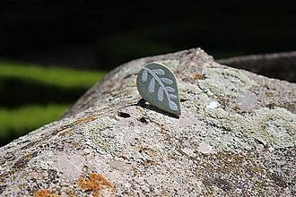 Prstene - Prsteň lístok - botanical jewelry - 9473305_
