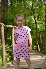 Detské oblečenie - Úpletové dievčenské šaty Cora s vreckami - 9471639_