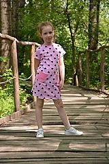 Detské oblečenie - Úpletové dievčenské šaty Cora s vreckami - 9471640_