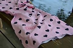 Detské oblečenie - Úpletové dievčenské šaty Cora s vreckami - 9471721_