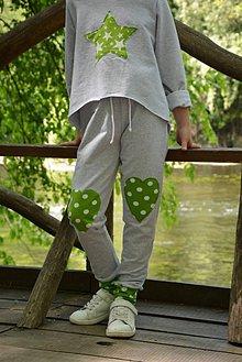 Detské oblečenie - Mimosa tepláky heart - 9470881_