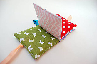 Hračky - Mini soft book - farebný - 9473891_