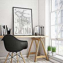 Grafika - ŽILINA, elegantná, biela - 9471422_