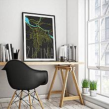 Grafika - ŽILINA, elegantná, čierna - 9471569_