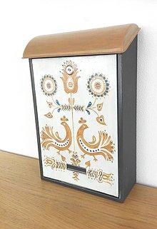Nádoby - Ornament-vtáčiky - 9471371_