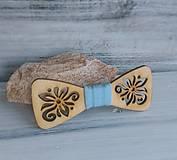 Detský drevený motýlik