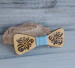 Detské doplnky - Detský drevený motýlik