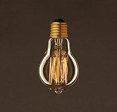 Iný materiál - EDISON žiarovka – CLASSIC E – E27, 30W, 60lm - 9473105_