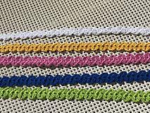 Náhrdelníky - Pestrofarebné náhrdelníky / Colorful chokers - 9472035_