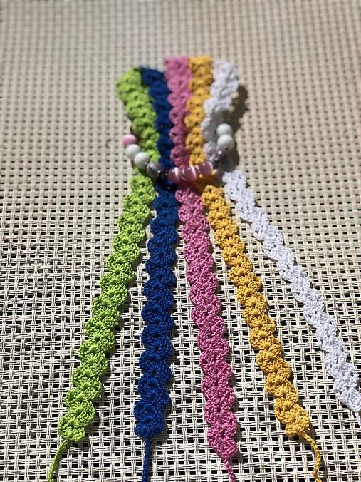 Pestrofarebné náhrdelníky / Colorful chokers