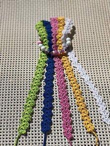 Náhrdelníky - Pestrofarebné náhrdelníky / Colorful chokers - 9472014_