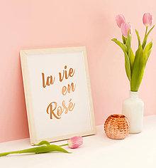 Grafika - La vie en Rosé - 9472376_
