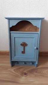 Krabičky - Skrinka na kľúče - modrá - 9473805_