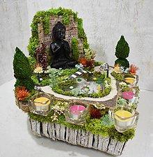 Dekorácie - Dekorácia-svietnik Japonská záhrada 2 - 9472858_