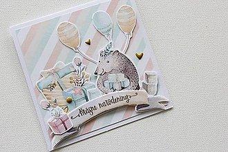 Papiernictvo - Pohľadnica - Krásne narodeniny - 9470554_