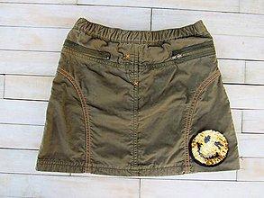Detské oblečenie - Suknička - sporty - flitre otáčacie - 9471269_