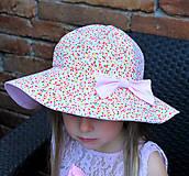 Detské čiapky - Letný klobúčik (xs) - 9470586_