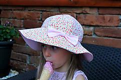 Detské čiapky - Letný klobúčik (xs) - 9470587_