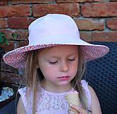 Detské čiapky - Letný klobúčik (xs) - 9470588_