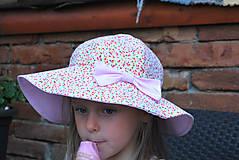 Detské čiapky - Letný klobúčik (xs) - 9470589_