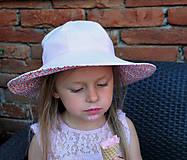 Detské čiapky - Letný klobúčik (xs) - 9470590_