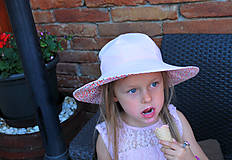Detské čiapky - Letný klobúčik (xs) - 9470591_