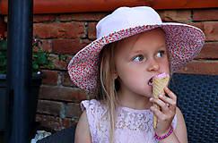 Detské čiapky - Letný klobúčik (xs) - 9470592_