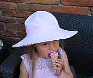 Detské čiapky - Letný klobúčik (xs) - 9470593_