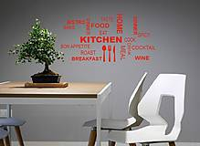 Dekorácie - Nálepky na stenu - Kuchyňa - 9472143_