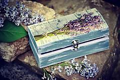 Krabičky - Truhlica Levander - 9474069_