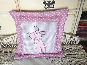 Úžitkový textil - Detský vankúšik - 9476473_