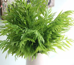 Iný materiál - Mäkká plastová tráva - 1 vetvička - 9475677_