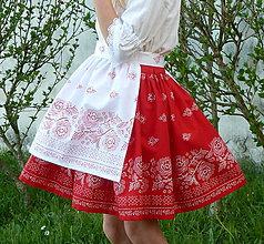 Iné oblečenie - Zásterka Bordúra Folk - 9474163_