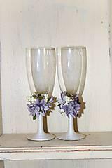 """Nádoby - Svadobné poháre """"Nevinnosť"""" - 9476112_"""