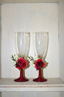 """Nádoby - Svadobné poháre """"Vášeň"""" - 9476091_"""