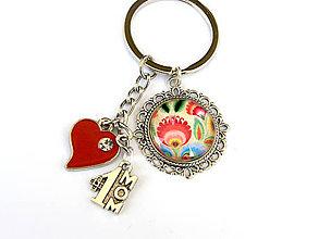 Kľúčenky - den matiek - mama je jednotka folk klucenka - 9475375_