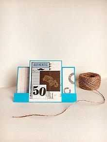 Papiernictvo - Pohľadnica - Pre muža k 50-tke - 9475472_
