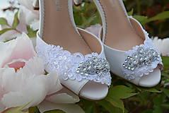 - Svadobné topánky
