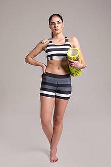 Nohavice - Shorty Zebra - 9474154_