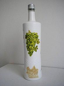 Nádoby - Fľaša - 9475726_