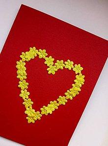 Papiernictvo - Pohľadnica Zo srdca - 9475770_