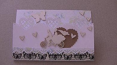 Papiernictvo - Svadobna pohľadnica - 9475543_
