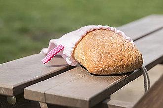 Taštičky - Ľanové vrecko na potraviny - 9476932_