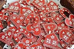 Magnetky - Červené magnetky - 9478292_