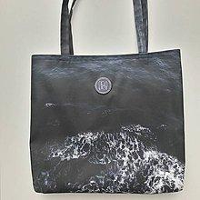 Nákupné tašky - Rozbúrené nočné more - 9477131_