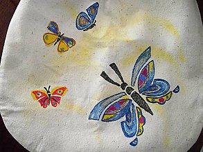 Veľké tašky - kabelka veľká maľovaná - 9477689_