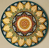 Dekorácie - Mandala...Rodinné šťastie - 9479908_